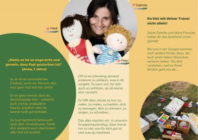 Flyer für Kinder